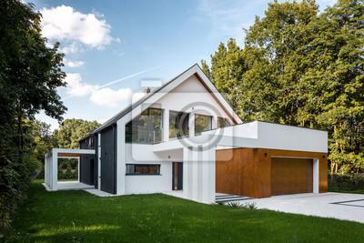 Bild Modern house with garage