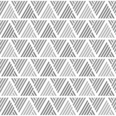 Modern Triangle Seamless Pattern