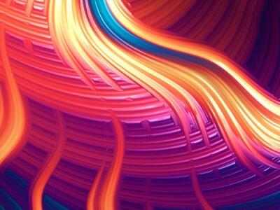 Bild Moderne abstrakte energetische wallpaper / Hintergrund