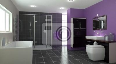 Moderne Badezimmer Interieur
