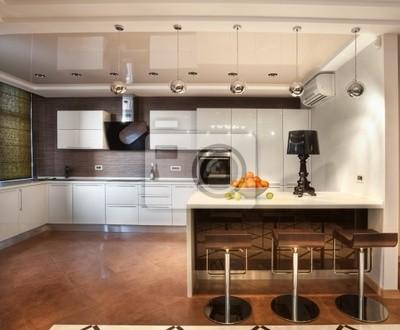 Bild Moderne Küche in Luxus-Villa
