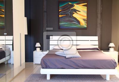 Moderne stilvolle Schlafzimmer