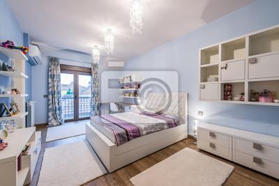 Bild: Moderne teenager-schlafzimmer interieur