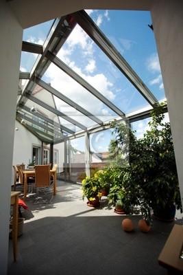 moderner Wintergarten