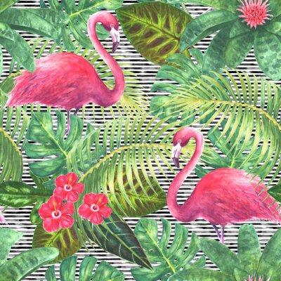 Bild Modisches exotisches nahtloses Muster