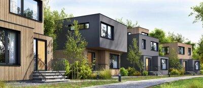 Bild Modular homes exterior designs of modern architecture