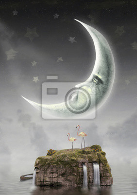 Mond im Himmel