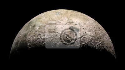 Mond-Planet-Sonnensystem