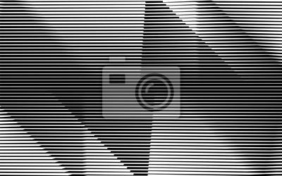 monochromer Streifen, der Linie Hintergrundmuster winkt