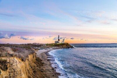 Bild Montauk-Punkt-Licht, Leuchtturm, Long Island, New York, Suffolk