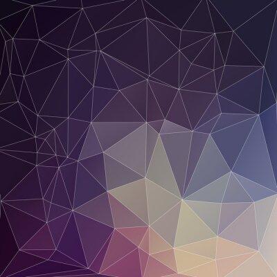 Bild Mosaik Polygon Hintergrund