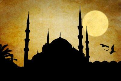 Bild Moschea silhouette