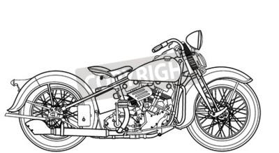 Bild Motorrad Jahrgang