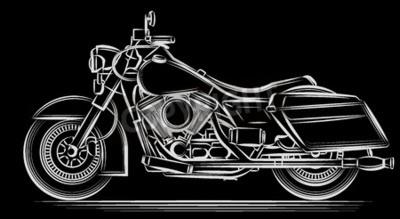 Bild Motorrad-Vektor