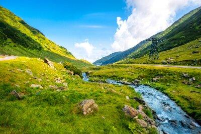 Bild Mountain river