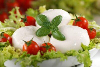 Bild Mozzarella di Bufala italiana con pomodorini di pachino