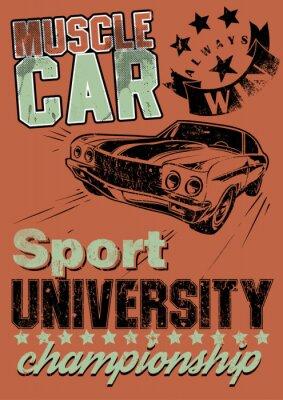 Bild Muscle car