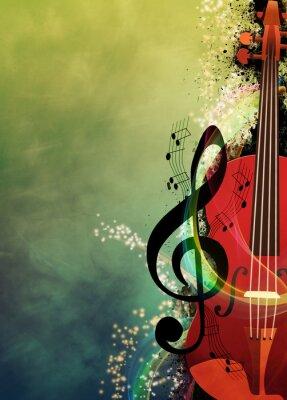 Bild Musik-Hintergrund