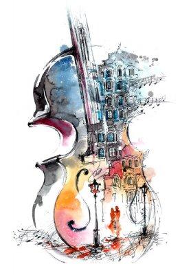 Bild Musik und die Stadt