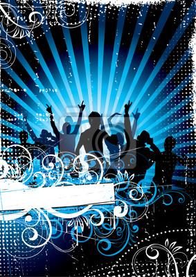 Bild musikalischer Hintergrund