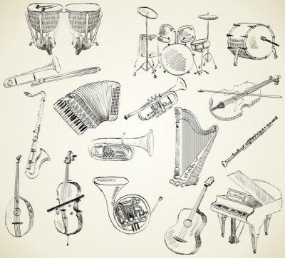Bild Musikinstrumente