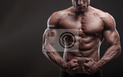 Bild Muskulöser Mann