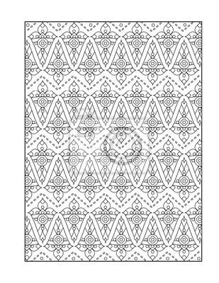 Bild Muster Ausmalbilder Für Erwachsene Kinder Ok Auch Oder Monochrom