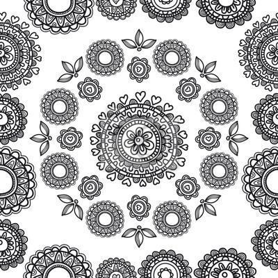 Muster Blumen