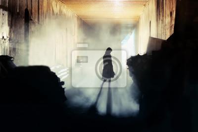 Bild Mysteriöse Frau