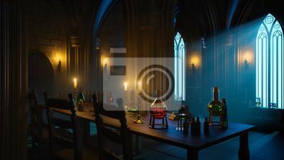 Bild Mysterious Alchemist Laboratory