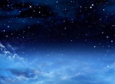 Bild Nachthimmel mit Sternen