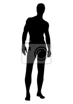 mann von der seite nackt