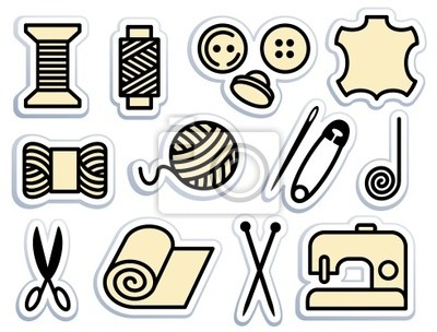 Näh-und Handarbeiten icons