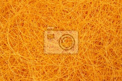 Nahaufnahme goldene Thai Seidenfaden Textur Hintergrund