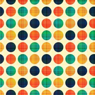 Bild nahtlose abstrakte Polkapunktmuster