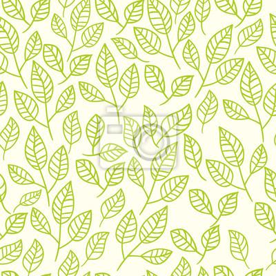 Bild Nahtlose abstrakten handgezeichnete floral background.