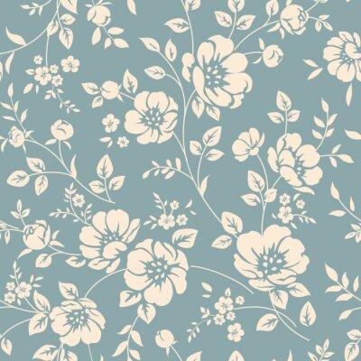 Bild Nahtlose Blumenmuster