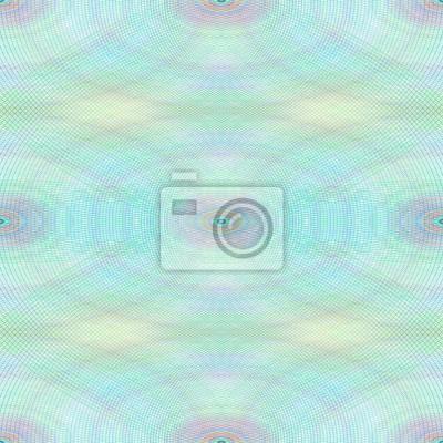 Nahtlose Ellipse Wasserzeichen Muster