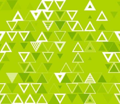 Bild Nahtlose geometrische Muster mit Dreiecken.
