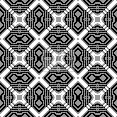 Nahtlose geometrische Muster überprüft.