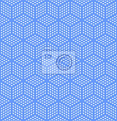 Nahtlose geometrische Textur optische Täuschung.