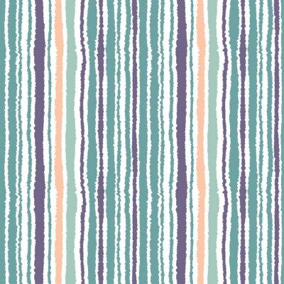 Bild Nahtlose gestreiften Muster. Vektor