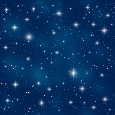 Bild Nahtlose Muster mit glänzenden Sternen