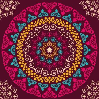 Bild Nahtlose Muster. Vintage dekorative Elemente
