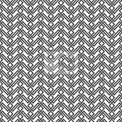 Bild Nahtlose Muster von sich schneidenden Trapezen. Zusammenfassung Celtic Ornament Textur. Mode geometrischen Hintergrund für Web-oder Druck-Design. Farbfelder sind beigefügt.