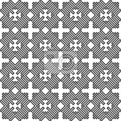 Bild Nahtlose Muster von sich überschneidenden Linien. Zusammenfassung Celtic Ornament-Textur. Mode geometrischen Hintergrund für Web-oder Druck-Design. Farbfelder sind beigefügt.