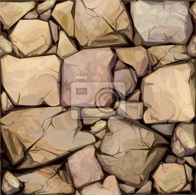 Bild Nahtlose Textur der Steine
