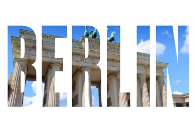 Bild Name der Stadt Berlin