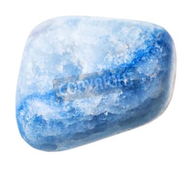 Naturlichen Mineral Stein Stein Blau Gefarbt Achat Edelstein