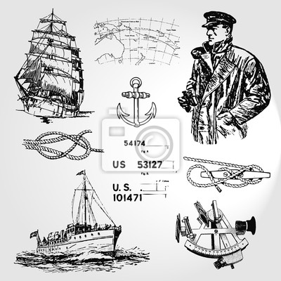 Nautische Symbole